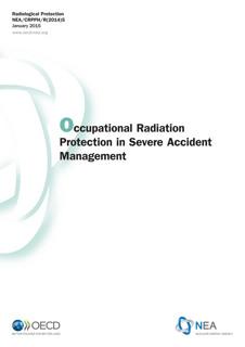 Occupational Radiation Protection in Severe Accident Management (EG-SAM)
